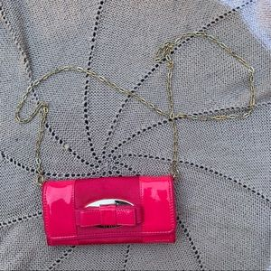 Ted Baker | Hot Pink Chain Strap Crossbody Bag